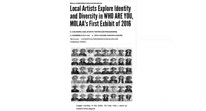 Local Artists Explore Identity and Diversity in WHO ARE YOU, MOL